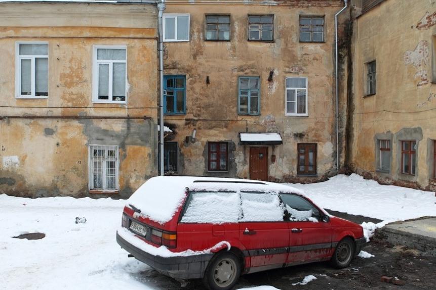 Калуга. Зимние виды города