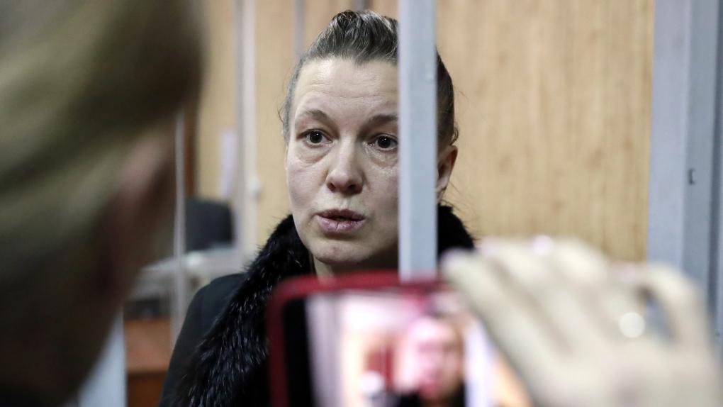Избрание меры пресечения в отношении матери брошенной девочки И. Гаращенко в Москве